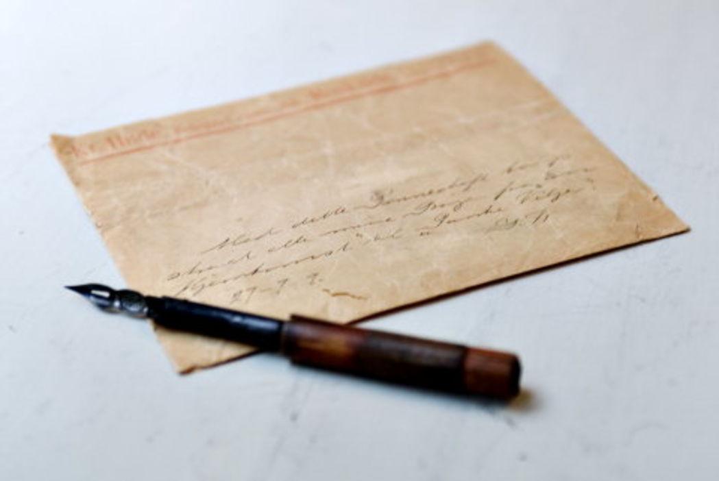 Gustav Wieds Pen og Papir